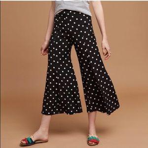 Maeve | Canna Cropped Polka Dot Pants